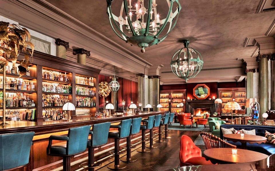 Scarfes bar at rosewood hotel london marcobeolchi